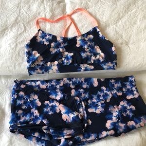 women's Old navy active workout yoga set L-XL